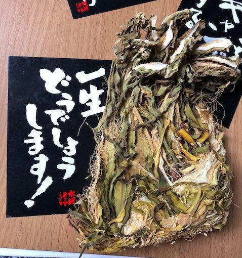台湾土産の漢方食材「覇王花(曇花)」