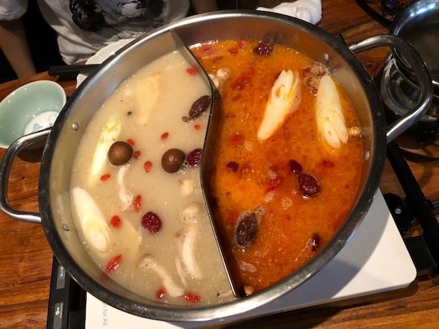 下北沢「百楽門酒家」の火鍋